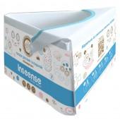 Горшок детский складной картонный INSEENSE (до 50-ти кг)
