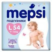 Подгузники Mepsi L 9-16 кг 54 шт