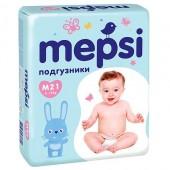 Подгузники Mepsi M (6-11 кг) 21 шт