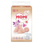 Подгузники Momi Premium M 6-11 кг 62 шт