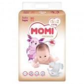 Подгузники Momi Premium S 4-8 кг 80 шт