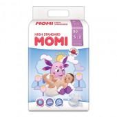 Подгузники Momi S 4-8 кг 80 шт