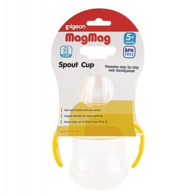 Оптом РIGEON Поильник MagMag шаг 2 с мягким носиком 5+ мес 200 мл
