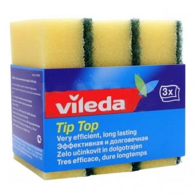 Оптом ВИЛЕДА губка классическая Тип-Топ 3 шт