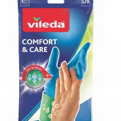 ВИЛЕДА перчатки Комфорт с кремом для чувствительной кожи рук S купить оптом