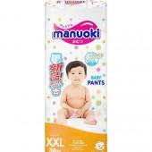 Manuoki  трусики, XXL (15+кг), 38 шт