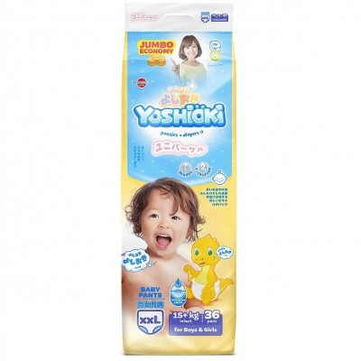 Yoshioki  трусики, XXL (15+кг), 36 шт оптом